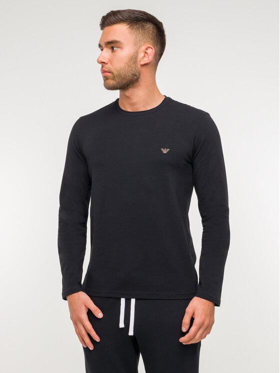 Emporio Armani Underwear Emporio Armani Underwear Hosszú ujjú 111653 9A512 00020 Fekete Regular Fit