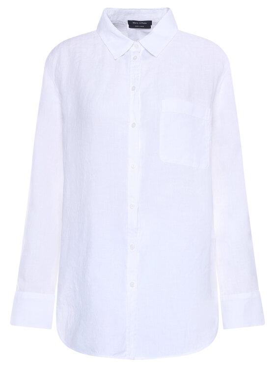 Marc O'Polo Marc O'Polo Koszula 003 1305 42435 Biały Regular Fit