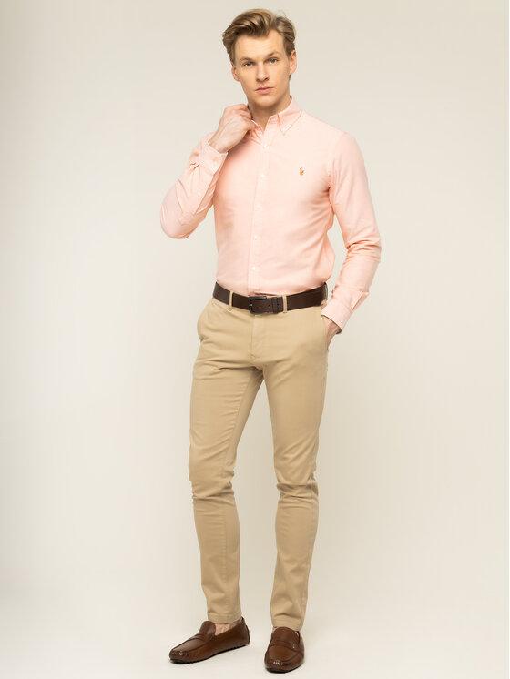 Polo Ralph Lauren Polo Ralph Lauren Košeľa Classics 710784299013 Oranžová Slim Fit