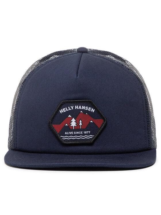 Helly Hansen Helly Hansen Czapka z daszkiem Flatbrim Trucker Cap 67155 Granatowy