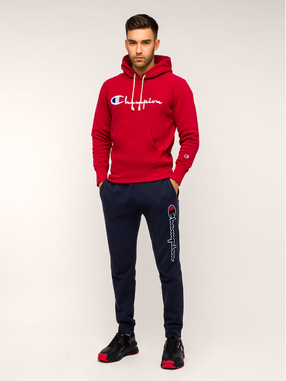Champion Champion Bluza 212574 RS517 Bordowy Regular Fit
