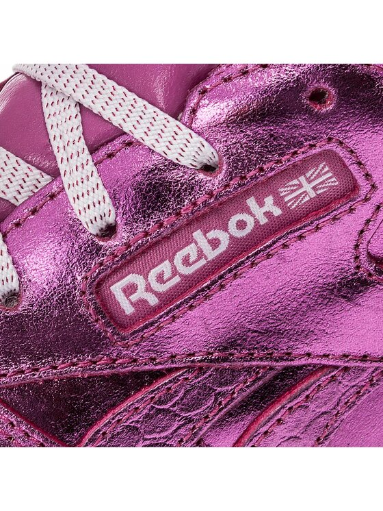 Reebok Reebok Scarpe Classic Leather Metallic BS8939 Rosa