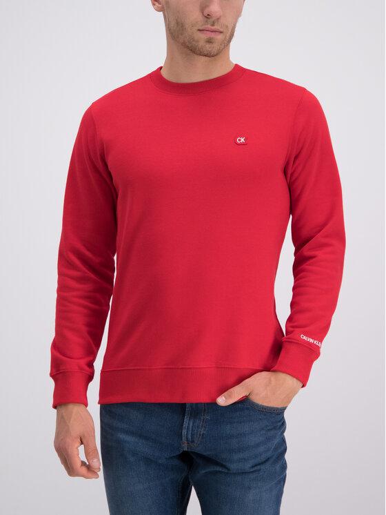 Calvin Klein Jeans Calvin Klein Jeans Sweatshirt J30J312771 Rot Regular Fit