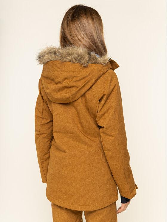 Billabong Billabong Snowboard kabát Into The Forest Q6JF08 BIF9 Sárga Tailored Fit
