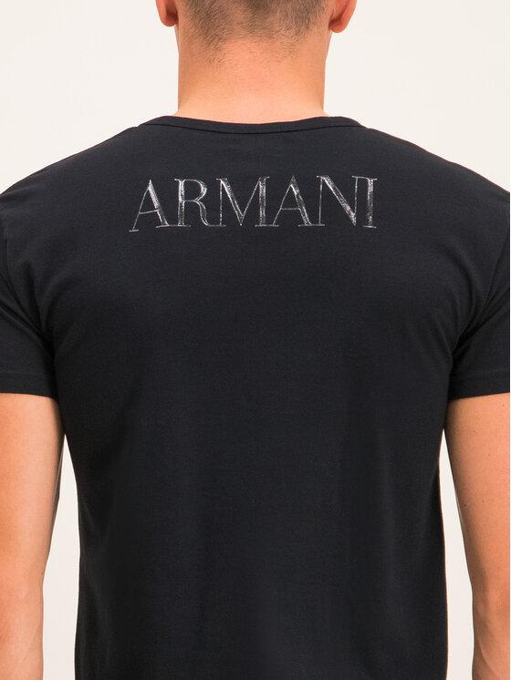 Emporio Armani Underwear Emporio Armani Underwear Tričko 111035 CC716 00020 Čierna Slim Fit