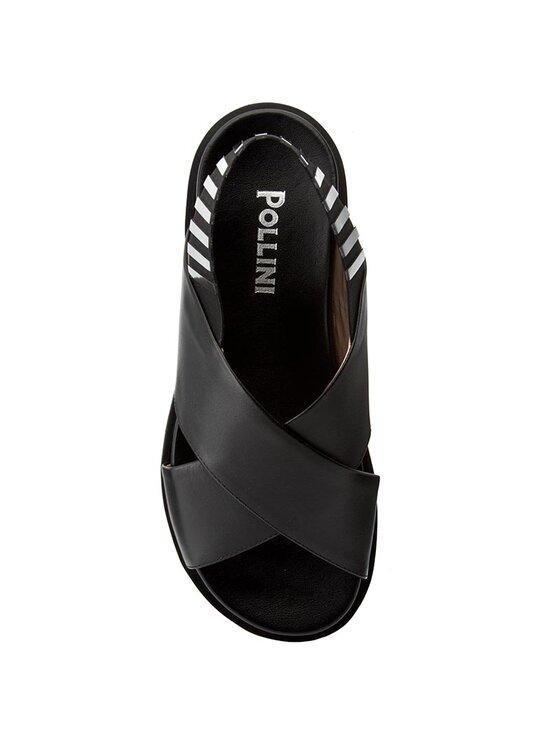 Pollini Pollini Sandále SA16513G03TC600A Čierna