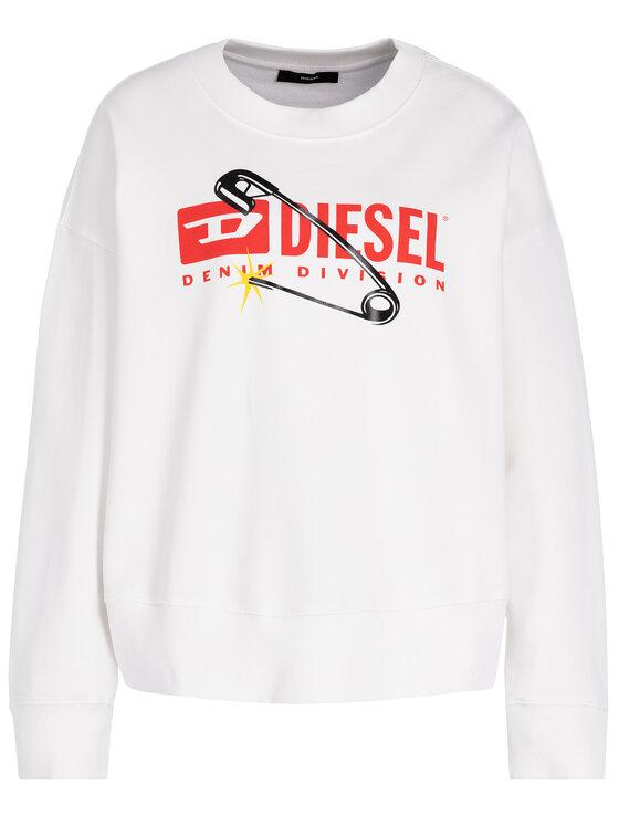 Diesel Diesel Pulóver Magda 00S78P 0IAJH Fehér Regular Fit