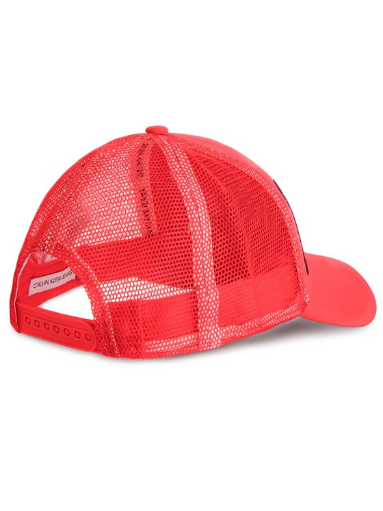 Calvin Klein Jeans Calvin Klein Jeans Καπέλο Jockey J Trucker Mesh Cap K50K504321 Κόκκινο