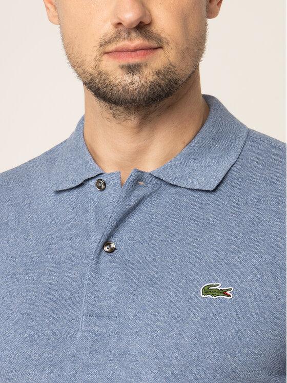 Lacoste Lacoste Polohemd L1264 Blau Classic Fit