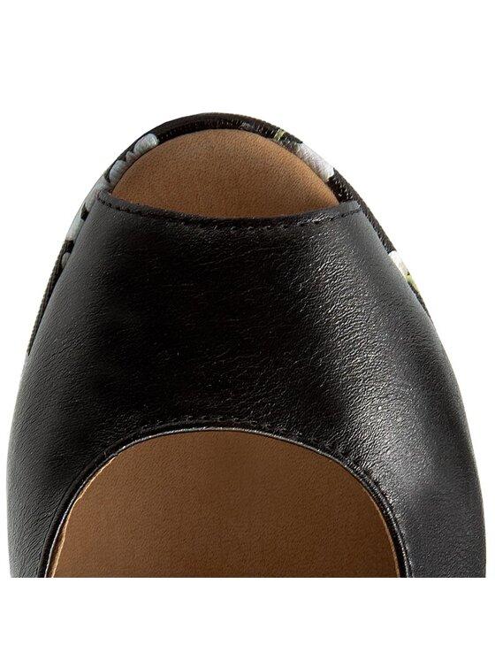 Caprice Caprice Sandały 9-28360-28 Czarny