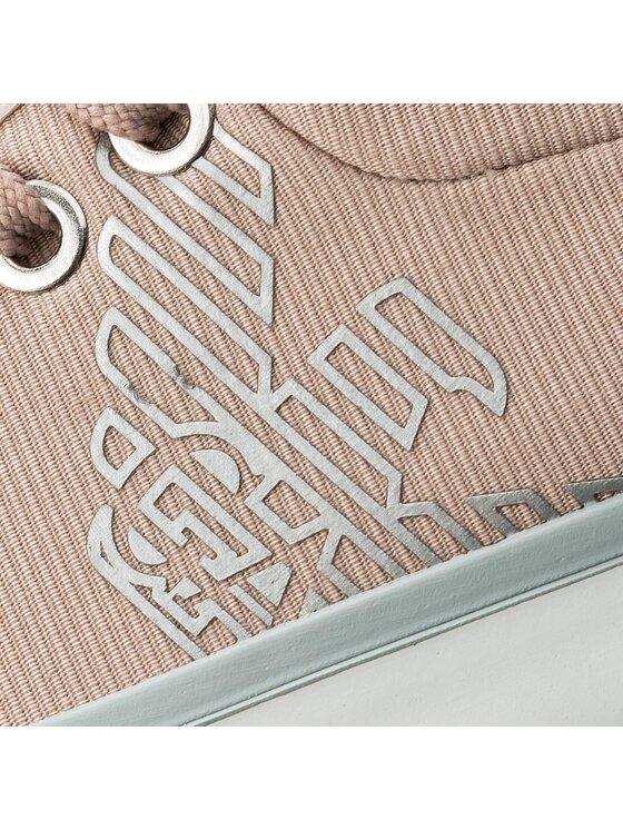 Emporio Armani Emporio Armani Tornacipő X3X050 XL220 A299 Rózsaszín