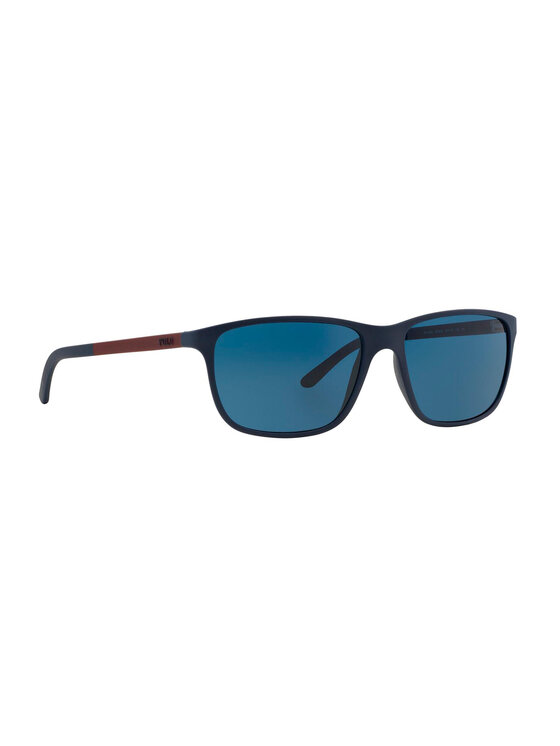 Polo Ralph Lauren Akiniai nuo saulės 0PH4092 550680 Tamsiai mėlyna