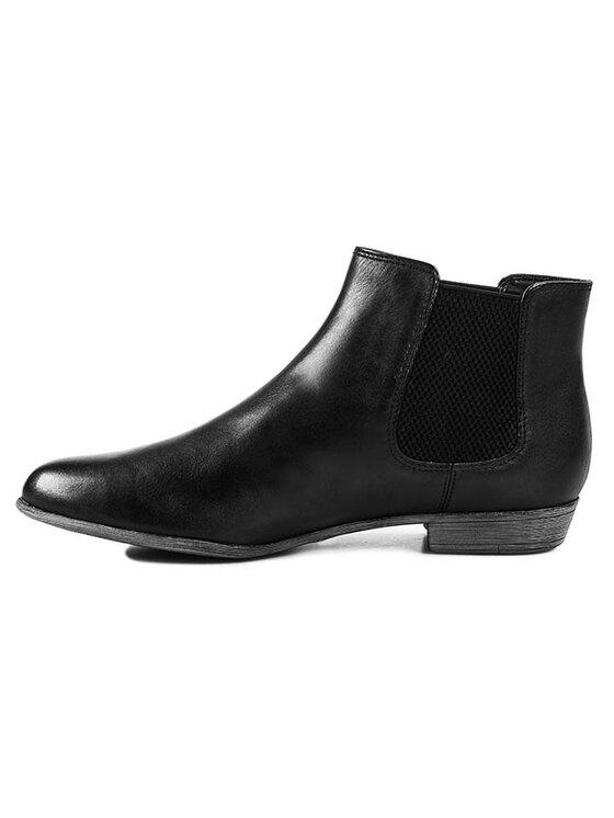Clarks Clarks Kotníková obuv s elastickým prvkem Lolly Dawson 261022924 Černá