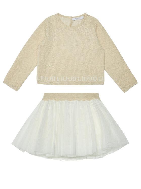 Liu Jo Kids Komplektas: palaidinė ir sijonas HF0023 MA88I Spalvota Regular Fit
