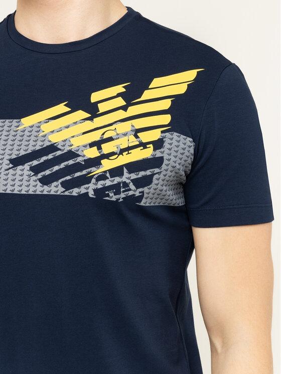 EA7 Emporio Armani EA7 Emporio Armani T-Shirt 3HPT49 PJQ9Z 1554 Tmavomodrá Regular Fit