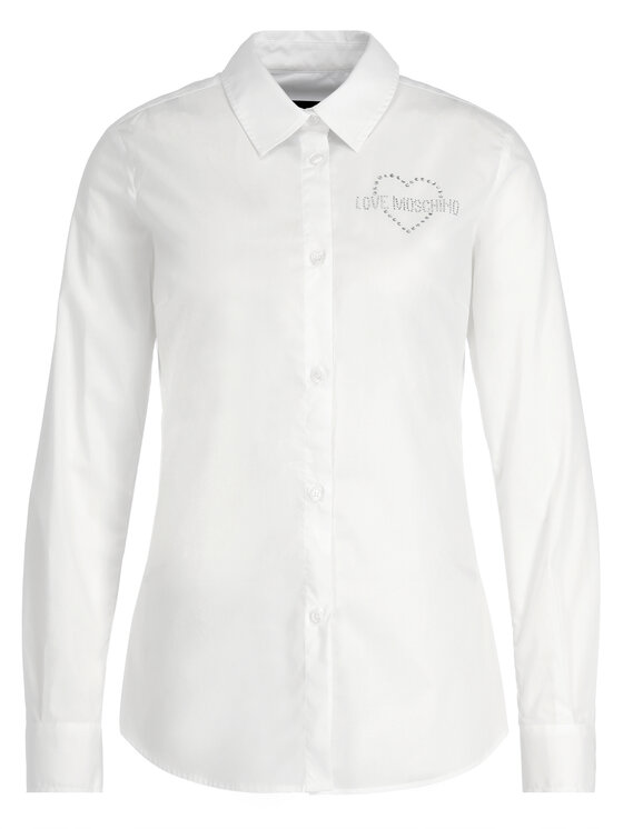 LOVE MOSCHINO LOVE MOSCHINO Cămașă WCB5410S 3296 Slim Fit