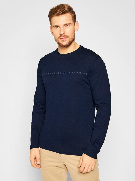 Baldessarini Marškinėliai ilgomis rankovėmis Theodoro 20005/5015 Tamsiai mėlyna Regular Fit