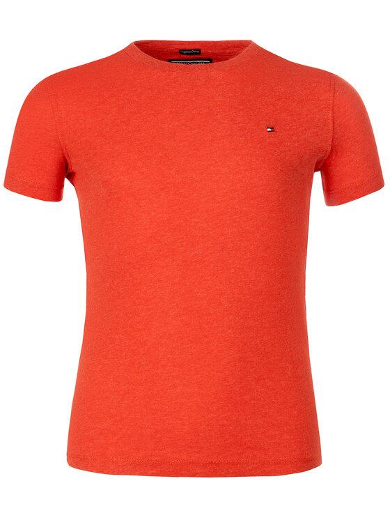 TOMMY HILFIGER TOMMY HILFIGER T-Shirt KB0KB04140 Rot Regular Fit