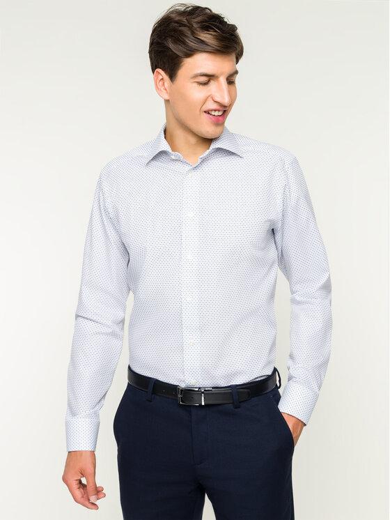 Eton Marškiniai 100000275 Balta Slim Fit