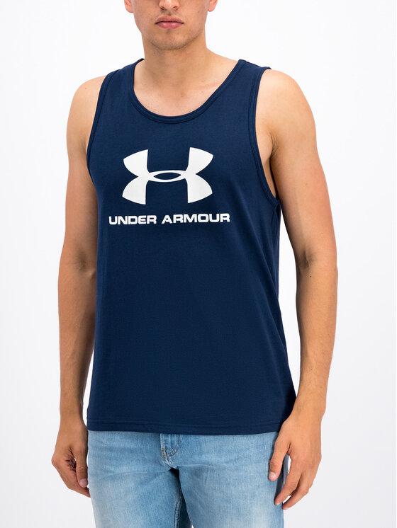 Under Armour Under Armour Smanicato UA Sportstyle Logo 1329589 Blu scuro Loose Fit