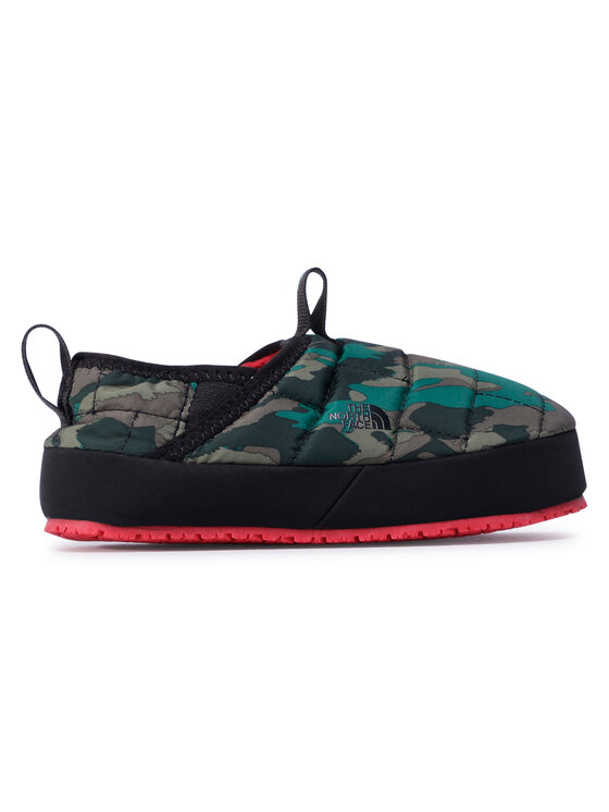 The North Face The North Face Kapcie Youth Thermoball Traction Mule II NF0A39UXUG01 Zielony