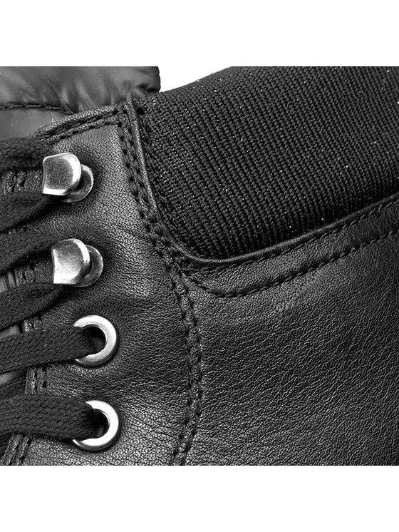 Geox Geox Členková obuv D Stardust H 4430H 046ZE C9999 Čierna
