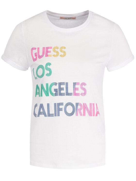 Guess Guess T-Shirt W94I24 K79R0 Weiß Regular Fit