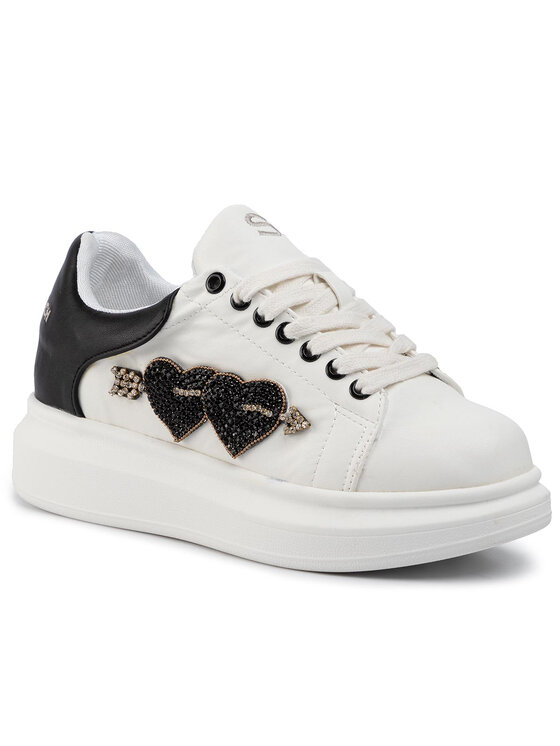 Silvian Heach Silvian Heach Sneakersy Sneakers Sh Heart RCA19089CZ Biały
