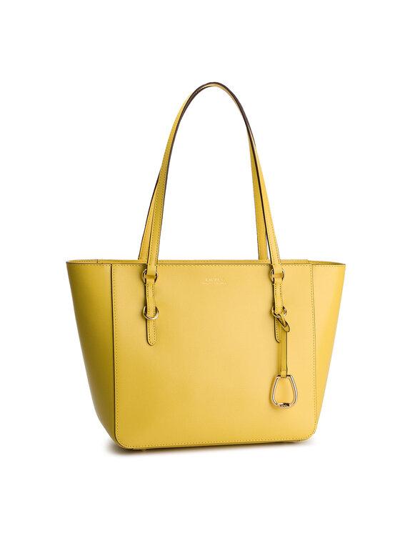 Lauren Ralph Lauren Lauren Ralph Lauren Torebka Shopper 431687508015 Żółty