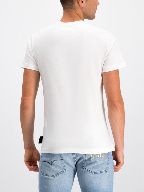 Versace Jeans Couture Versace Jeans Couture Тишърт B3GUA7EB Бял Slim Fit