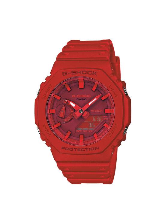 G-Shock Laikrodis GA-2100-4AER Raudona