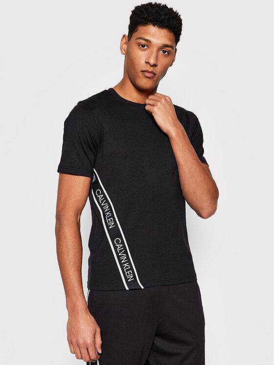 Calvin Klein Performance Marškinėliai 00GMS1K263 Juoda Regular Fit