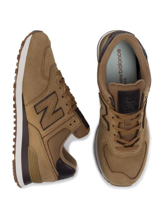 New Balance New Balance Sneakersy ML574NBH Brązowy