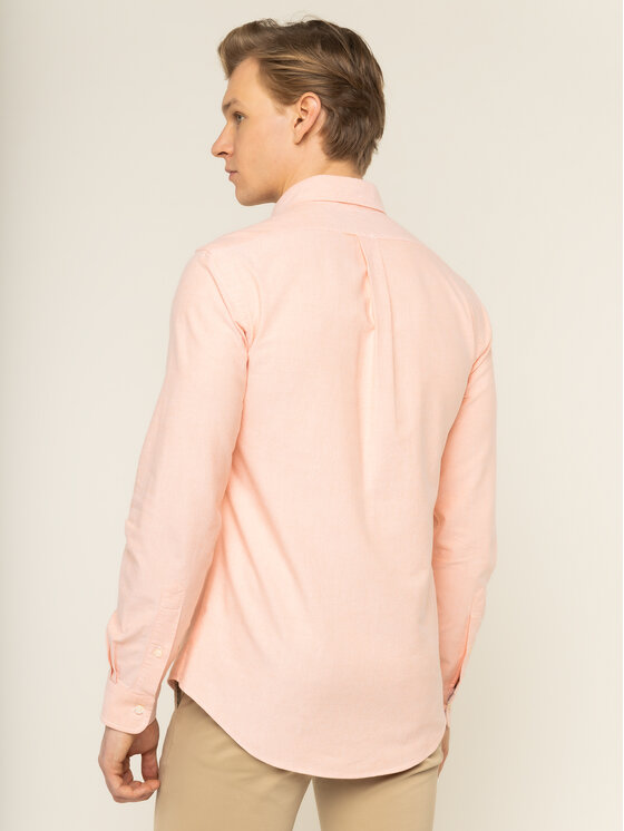 Polo Ralph Lauren Polo Ralph Lauren Koszula Classics 710784299013 Pomarańczowy Slim Fit