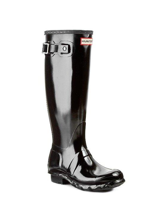 Hunter Guminiai batai Original Gloss W23616 Juoda