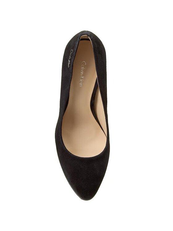 Calvin Klein Calvin Klein Κλειστά παπούτσια Jyler Kid Suede N11743 Μαύρο