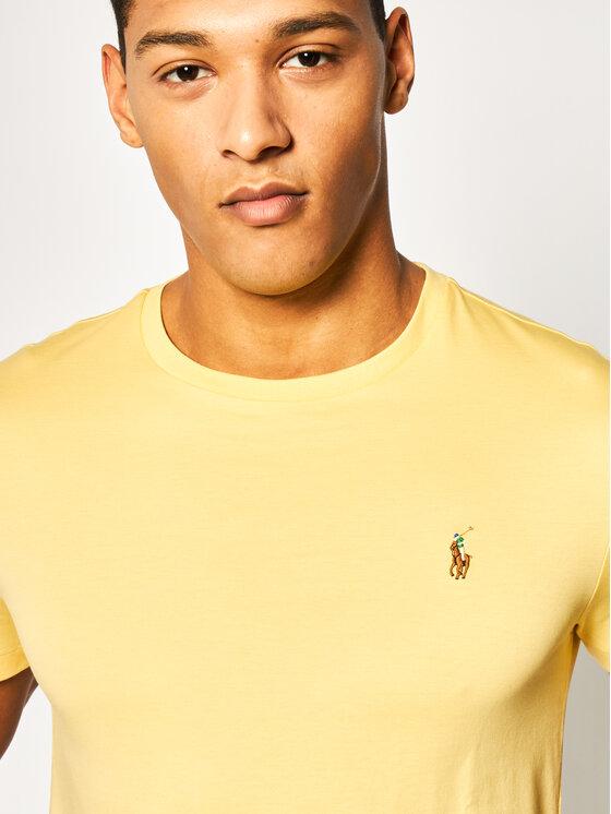 Polo Ralph Lauren Polo Ralph Lauren T-Shirt Classics 710740727 Gelb Custom Slim Fit