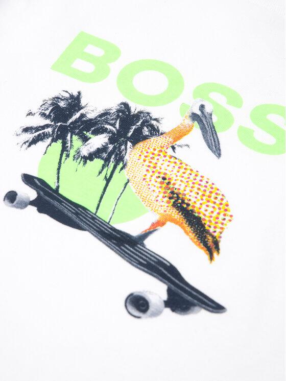 Boss Boss Тишърт J05759 D Бял Regular Fit