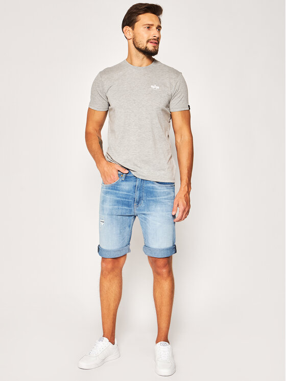 Tommy Jeans Tommy Jeans Jeansshorts Rey DM0DM08041 Blau Relaxed Fit