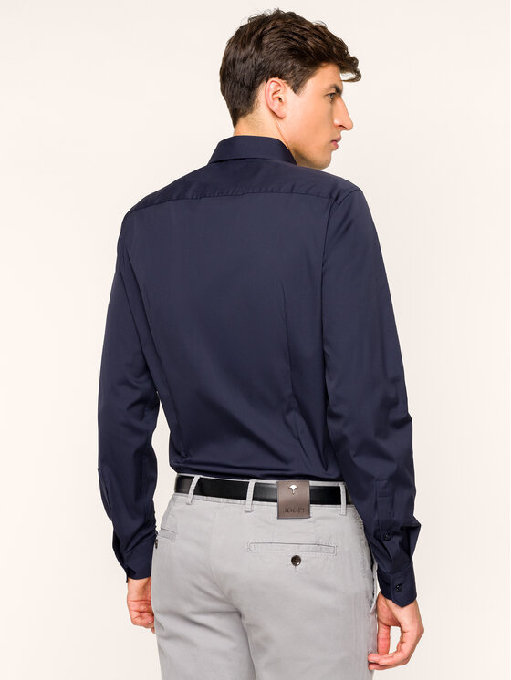 JOOP! Joop! Koszula 30017057 Granatowy Extra Slim Fit