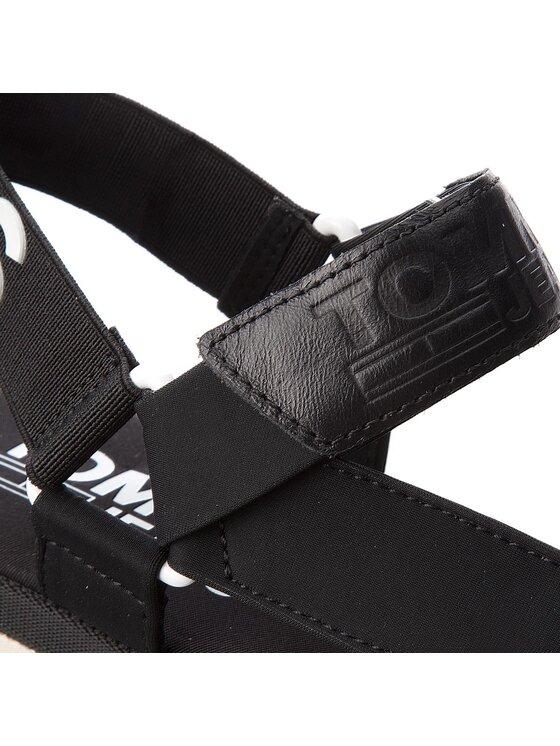 Tommy Jeans Tommy Jeans Basutės Fresh Modern Sandal EN0EN00219 Juoda