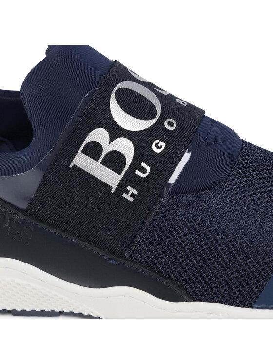 Boss Boss Sneakersy J29J93 D Granatowy