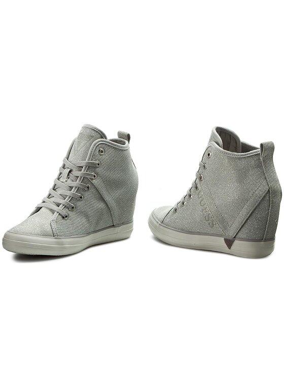 Guess Guess Sneakers Jilly FLJIL3 FAM12 Silberfarben