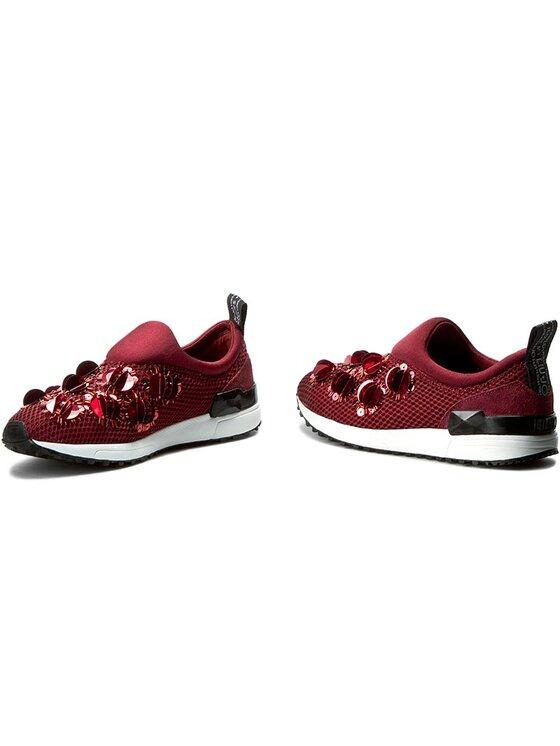 Liu Jo Liu Jo Sneakersy Scarpa Donna Tess. F.Do Gomma S66061 J9038 Bordowy