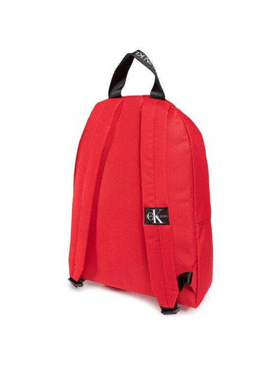 Calvin Klein Calvin Klein Plecak Explored Monogram Backpack IU0IU00152 Czerwony