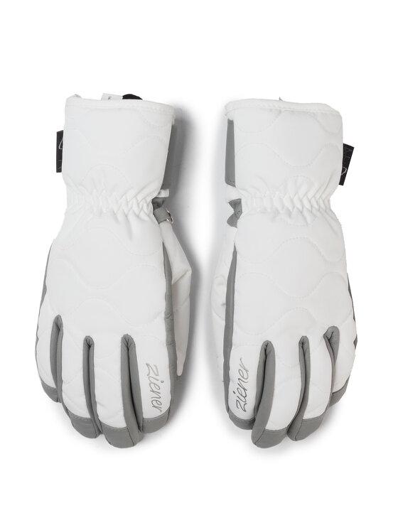 Ziener Slidinėjimo pirštinės Krisa As (R) Aw Lady Glove 191107 Balta