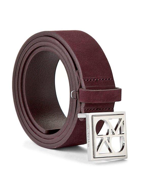 Calvin Klein Calvin Klein Dámský pásek Fashion Logo Belt K60K602083 85 Fialová