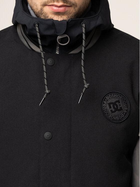 DC DC Snowboardová bunda EDYTJ03089 Čierna Regular Fit