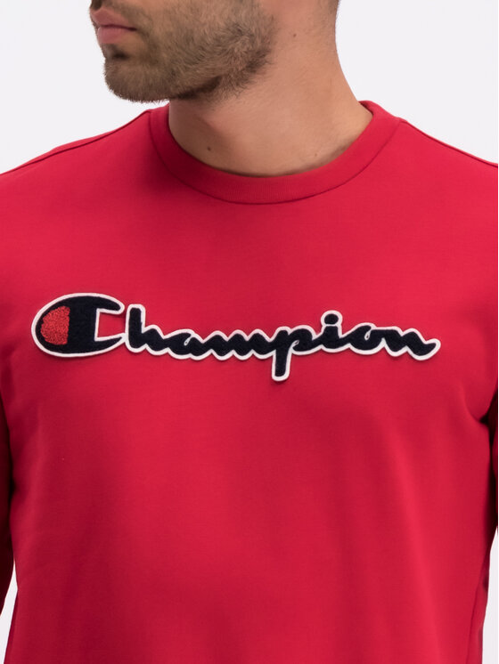 Champion Champion Felpa 212942 Rosso Comfort Fit