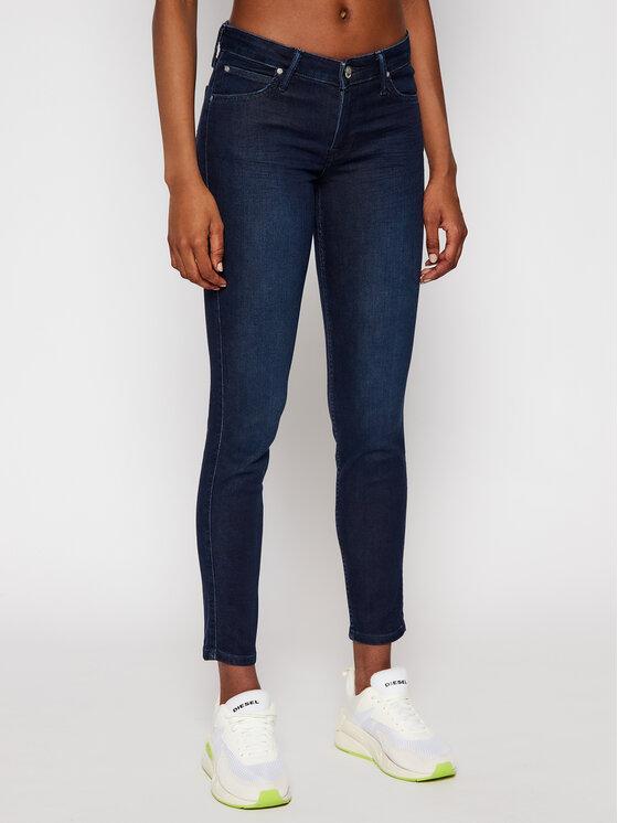 Lee Lee jeansy_skinny_fit Scarlett L526RKIN Tamsiai mėlyna Skinny Fit